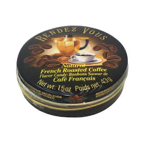 Rendezvous Natural French Roasted Coffee Candy 43g