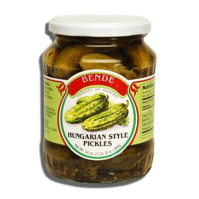 Bende Hungarian Style Pickles 680g