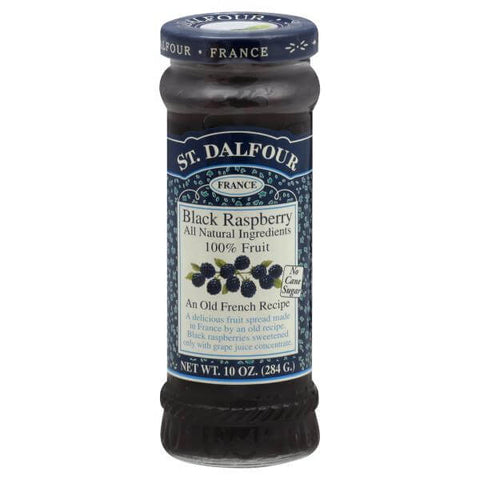 St. Dalfour Black Raspberry Fruit Spread 284g