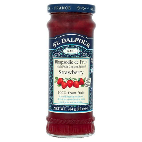 St. Dalfour Strawberry Fruit Spread 284g