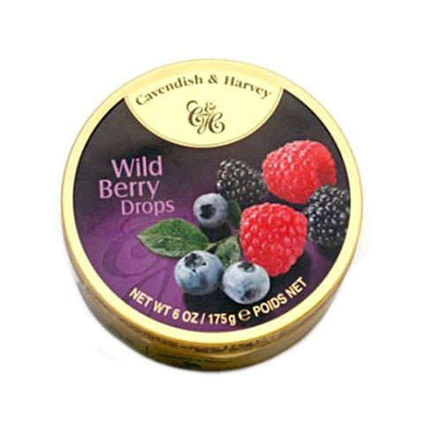 Cavendish and Harvey Wild Berry Fruit Drops 150g