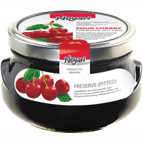 Noyan Preserve - Sour Cherry (Pitted) 450g