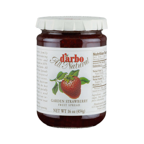D Arbo Fruit Spread - Strawberry  454g