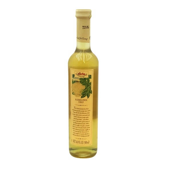 D Arbo White Elderflower Syrup 500ml
