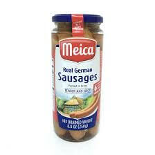 Meica Real German Sausages in Brine 250g