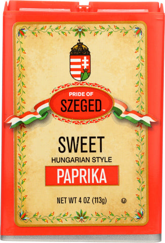 Pride of Szeged Hungarian Sweet Paprika Tin 113g
