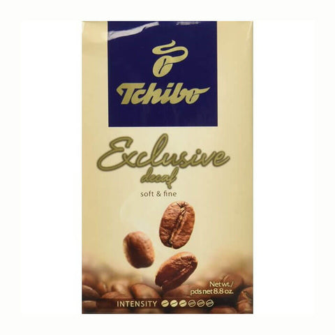 Tchibo Exclusive Decaf 100% Arabica Ground Coffee 250g