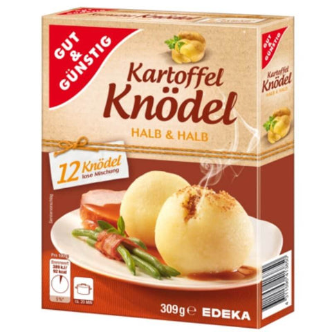 Gut and Gunstig Kartoffel Knoedel (Potato Dumplings) 200g