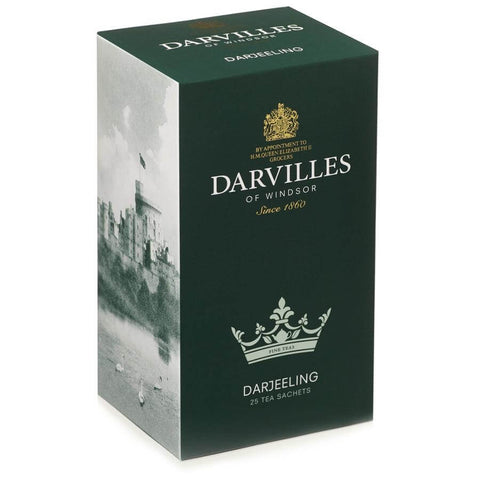 Darvilles of Windsor Tea - Darjeeling (Pack of 25 Tea Bags) 62.5g