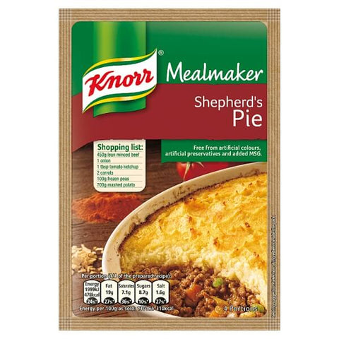 Knorr Mealmaker Shepherds Pie Sauce Mix 42g