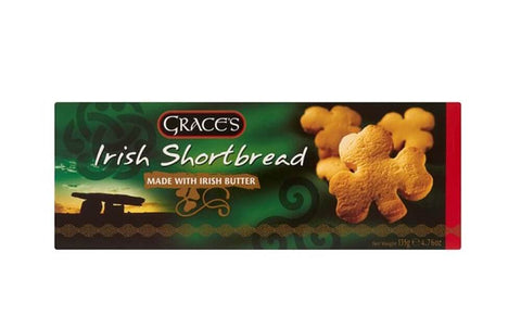 Clares Irish Shortbread 135g