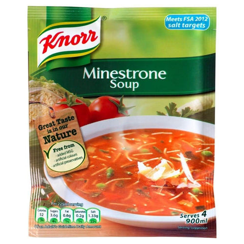 Knorr Minestrone Soup 62g