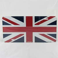 British Brands License Plate - Union Jack 78g