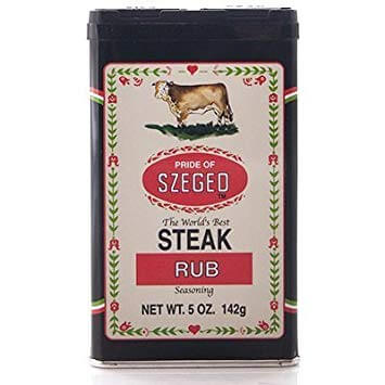 Pride of Szeged Steak Rub Seasoning 142g
