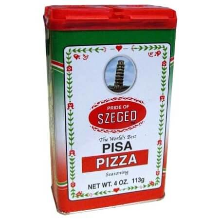 Pride of Szeged Pizza Seasoning 99g