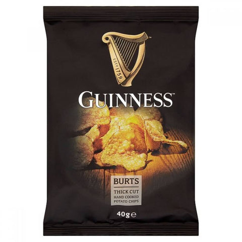 Burts Crisps - Guinness Thick Cut Potato Chips 42g
