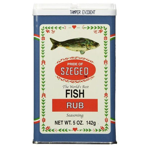Pride of Szeged Fish Rub Seasoning 142g