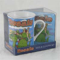 Nessie Mug and Coaster Set 279g
