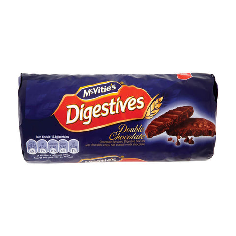 McVities Double Chocolate Digestives Biscuits 267g