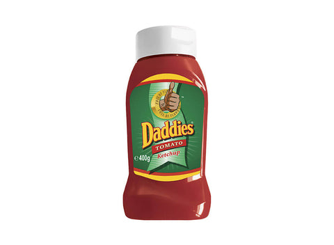 Daddies Tomato Ketchup Squeezy Bottle 400g