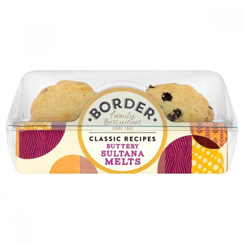 Border Buttery Sultana Tea Biscuits 150g