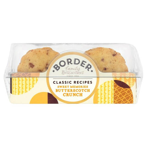 Border Butterscotch Biscuits 150g