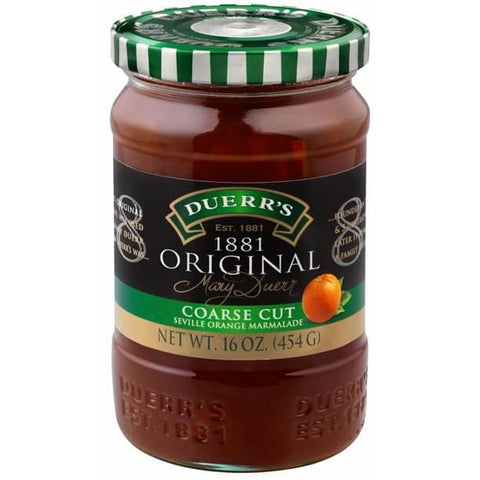 Duerrs 1881 Original Coarse Cut Seville Orange Marmalade 454g