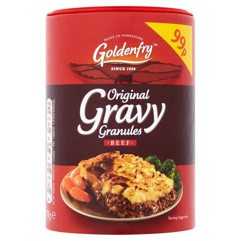 Goldenfry  Gravy Granules -Smooth and Rich for Beef 170g