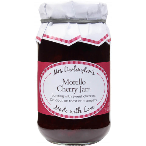 Mrs Darlingtons Traditional Morello Cherry Jam 340g