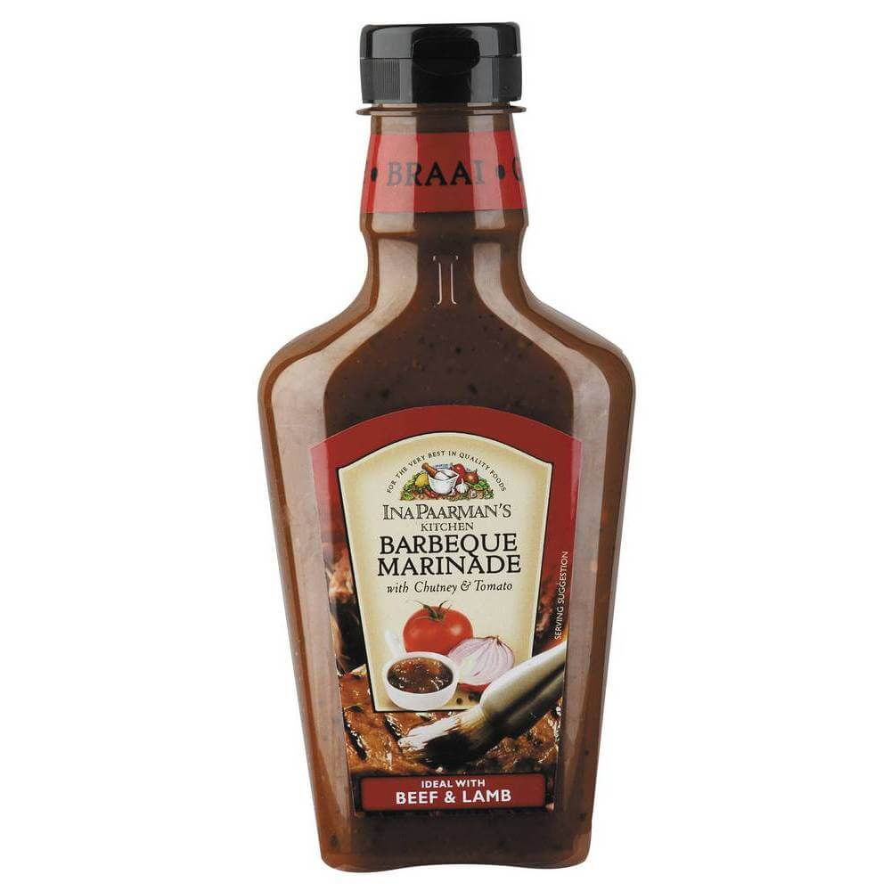 Ina Paarman Barbeque Marinade with Chutney and Tomato 500ml