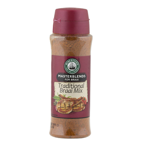 Robertsons Spice - Masterblends for Braais - Traditional Braai Mix (Kosher) 200g