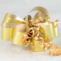 International Brands Bow - Metallic Gold - For your Gift Box 5g