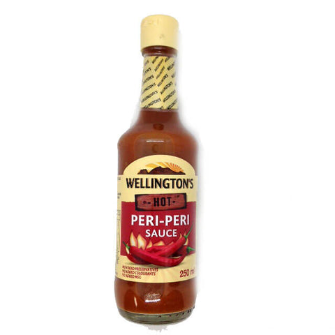 Wellingtons Hot Peri Peri Sauce (Kosher) 250ml