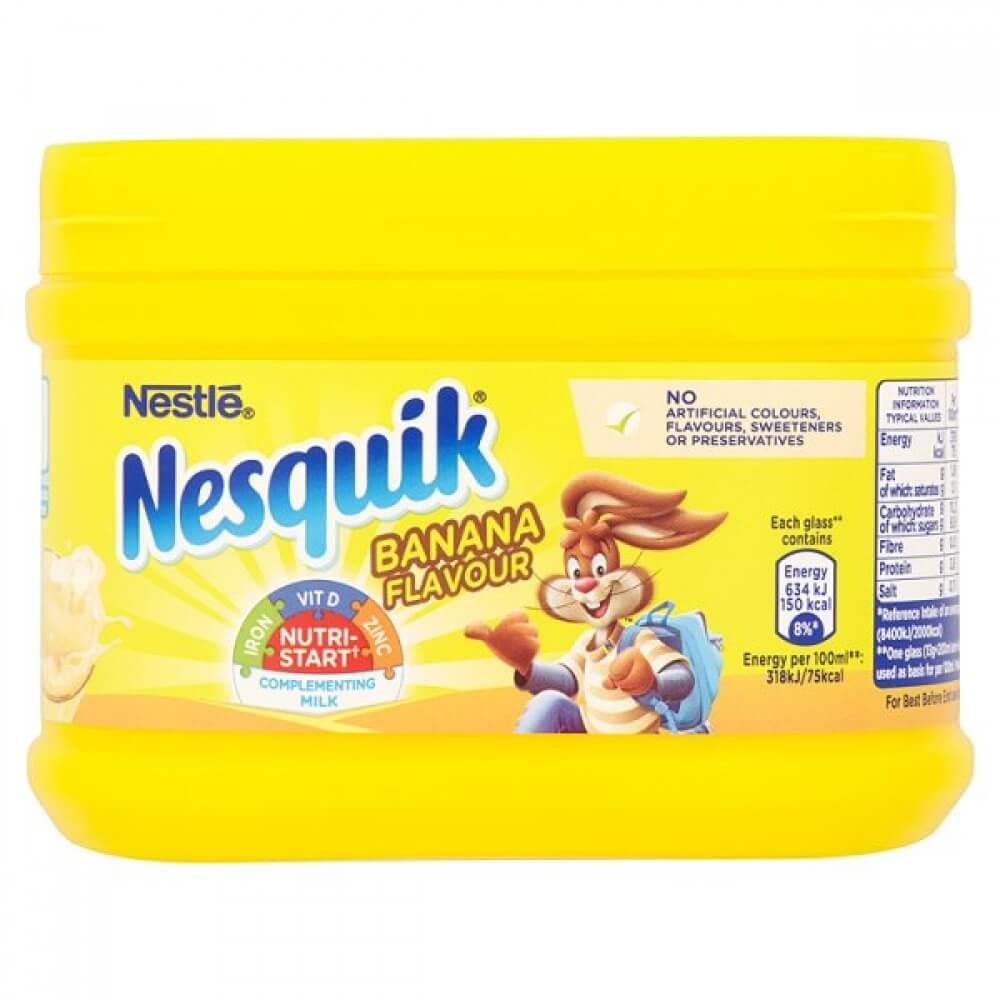 Nestle Nesquick Banana Powder 300g