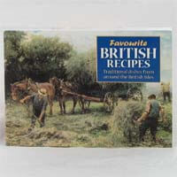 Favorite Recipes Book - British Recipes 59g