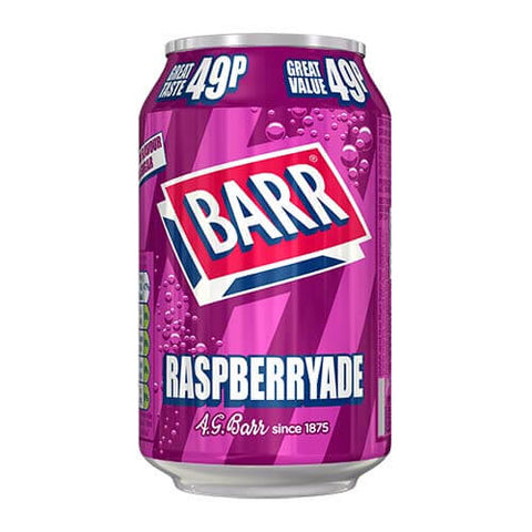 Barrs Raspberryade Sugar Free 330ml