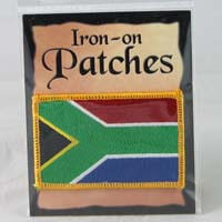 African Hut South African Fabric Patch 20g