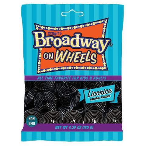 Gerrits Broadway on Wheels Licorice Flavour 150g