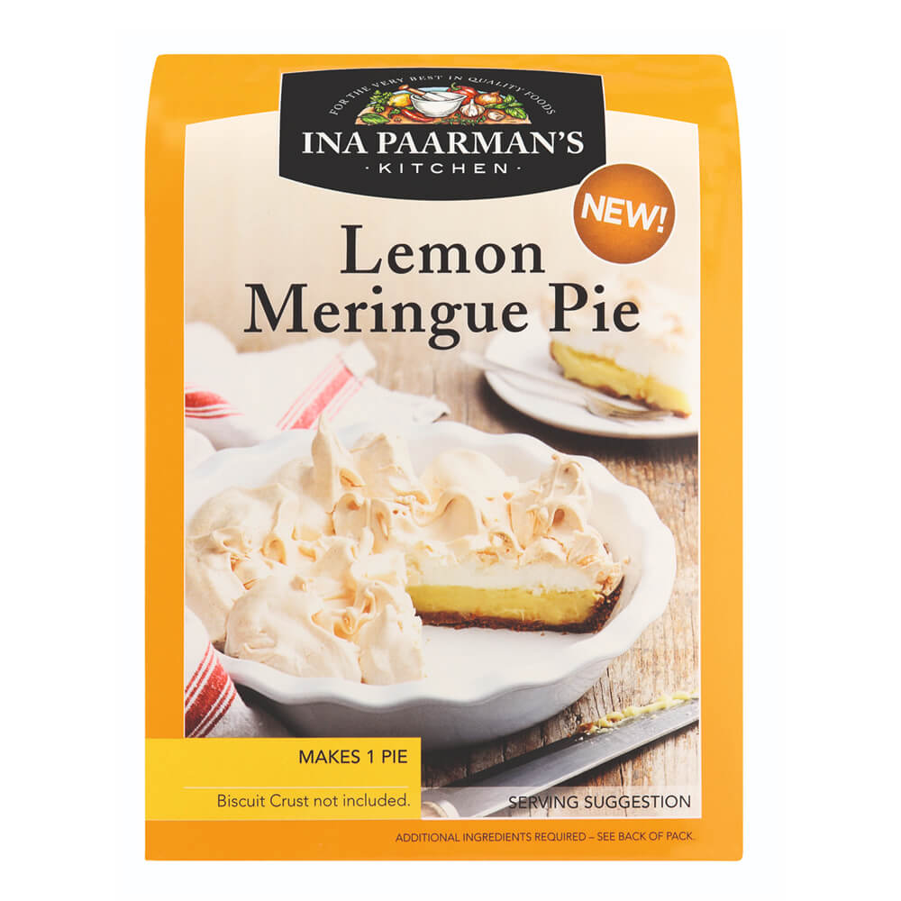 Ina Paarman Lemon Meringue Pie Mix 525g
