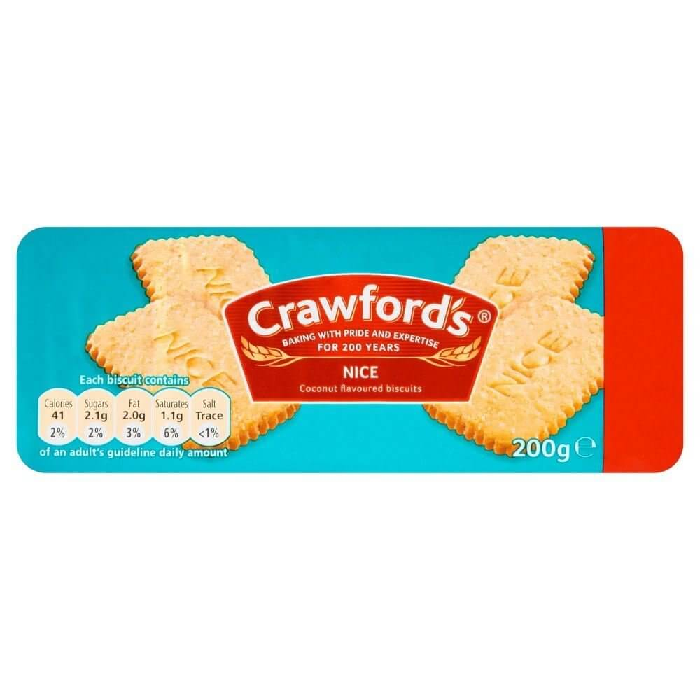 McVities Crawford Nice Biscuits 200g