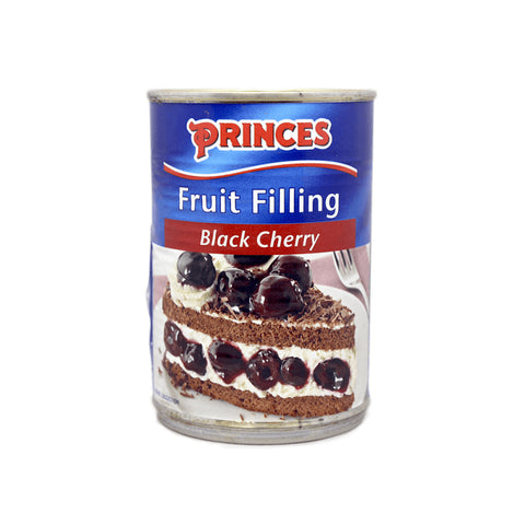 Princes Fruit Filling -  Black Cherry  410g