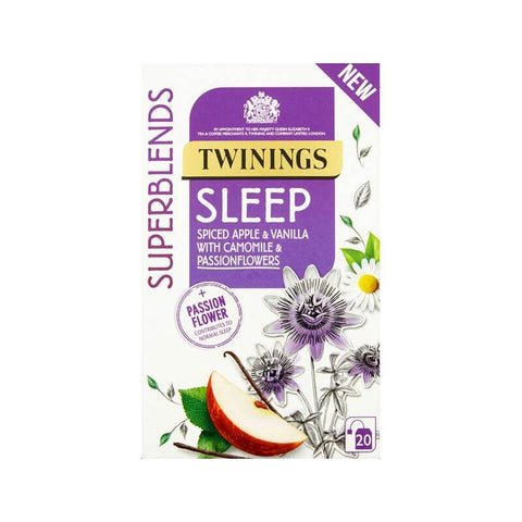 Twinings Superblends Sleep Spiced Apple and Vanilla with Chamomile and Passion Flower 30g
