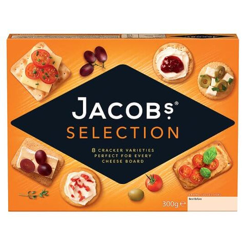 Jacobs Biscuits for Cheese Carton 300g
