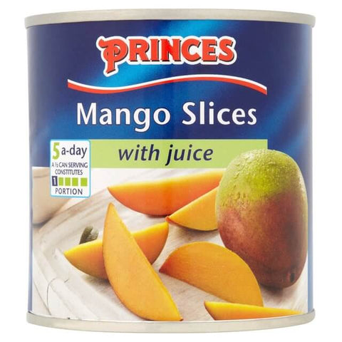 Princes Fruit - Mango Slices with Juice 432g