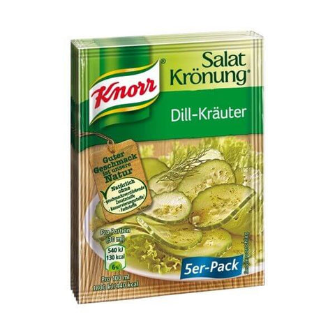 Knorr Dill Salad Dressing Sachets (Pack of 5) 62g
