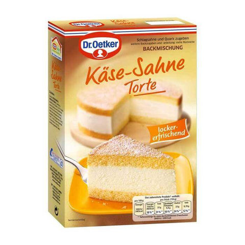 Dr Oetker Creamy Cheese Torte Baking Mix 385g