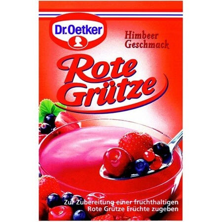 Dr Oetker Raspberry Jelly Dessert Mix (Pack of 3) 120g