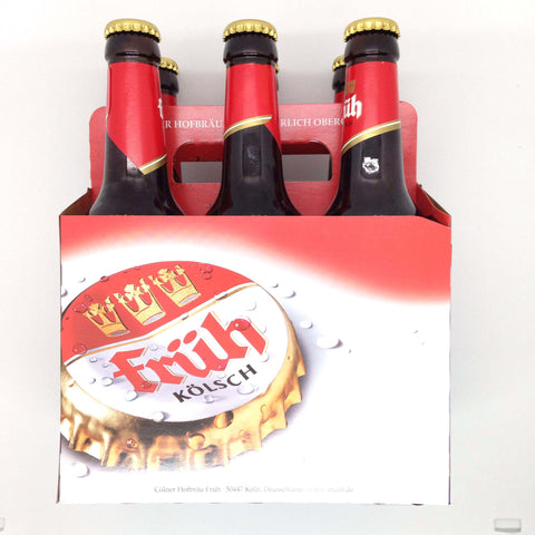 Frueh Koelsch Beer (Pack of 6 x 330ml) 3.3kg