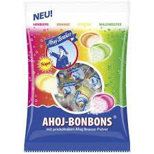 Ahoj Hard Candy With A Fizzy Center 150g