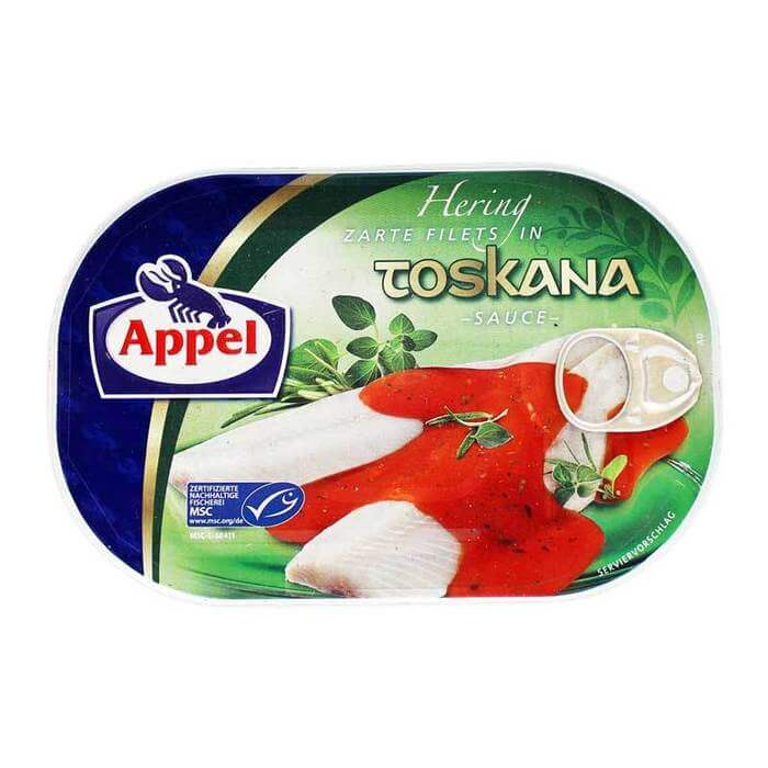Appel Herring In A Tomato Pulp And Olive Oil Sauce 200g